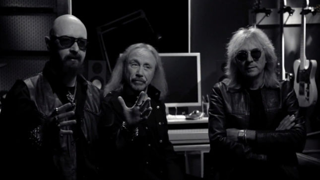 JUDAS PRIEST - New Video Trailer Streaming For Upcoming Defenders Of The Faith 30th Anniversary Reissue