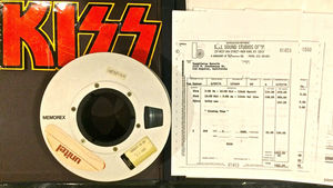 KISS - 1974-'75 Demo Bible Book Up For Auction