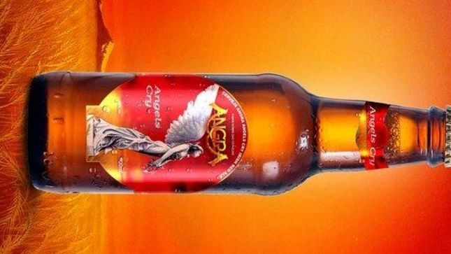 ANGRA Launch Angels Cry Beer