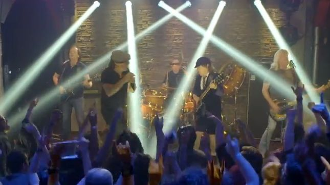 "AC/DC Release ""Rock The Blues Away"" Video"