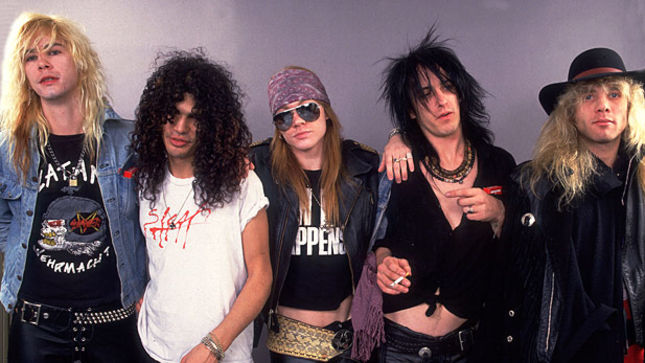GUNS N' ROSES - Live Radio Broadcasts Double-CD Recorded In '88, '92 Due Next Month