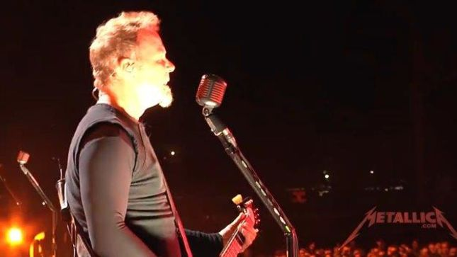 METALLICA - Six Shows From Melbourne Available Via LiveMetallica.com;