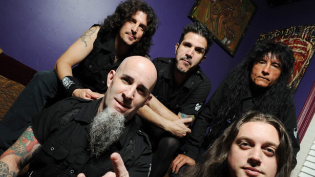 "ANTHRAX Nears Completion Of New Album; ""This New One Is Really Thrashy"", Says CHARLIE BENANTE"