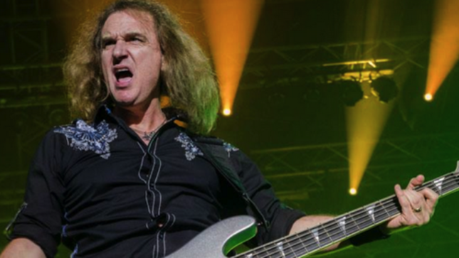 "MEGADETH Bassist DAVID ELLEFSON Talks My Life With Deth Autobiography - ""I Always Try To Look At Things Through The Eyes Of A Fan"""