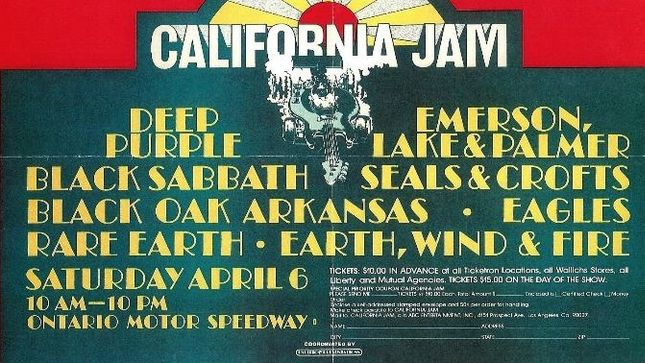 DEEP PURPLE - More Vintage Video From California Jam Unearthed