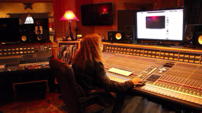 MEGADETH Hit The Studio; Pre-Order New Album And Get Access To Exclusive Behind-The-Scenes Content Leading Up To Release