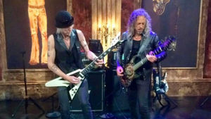 MICHAEL SCHENKER And KIRK HAMMETT Featured On That Metal Show's Behind The Jam; Full Length Clip Posted