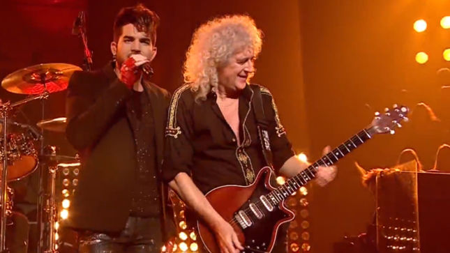 QUEEN Guitarist BRIAN MAY To Guest On New ADAM LAMBERT Album