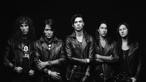 BLACK VEIL BRIDES' Alive And Burning DVD Out July 10th; Artwork Revealed