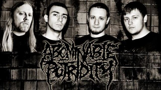 "ABOMINABLE PUTRIDITY Launch ""Supreme Void"" Lyric Video"