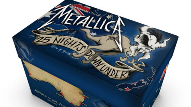 METALLICA - 25 Nights Down Under 50 CD Box Set Now Available