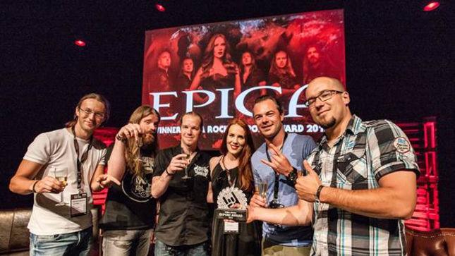 EPICA Receive Dutch Music Export Award