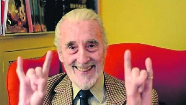 SIR CHRISTOPHER LEE - Screen Legend, Oldest Heavy Metal ...