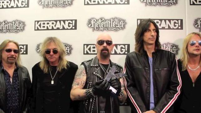 JUDAS PRIEST Receives Inspiration Award At Kerrang! Awards