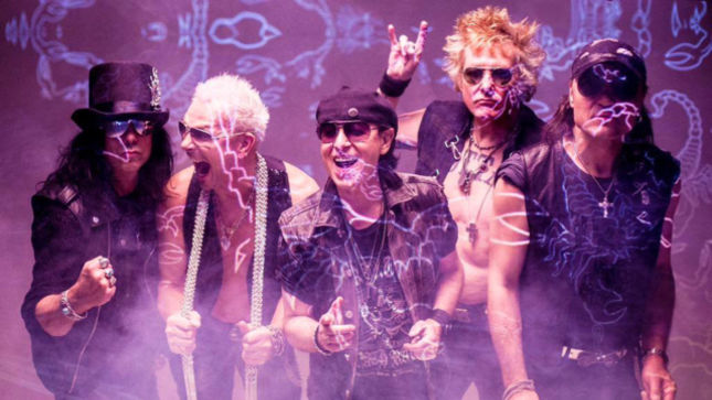 SCORPIONS - North American Edition Of Return To Forever To Include 7 Bonus Tracks; Release To Coincide With Launch Of North American 50th Anniversary Tour