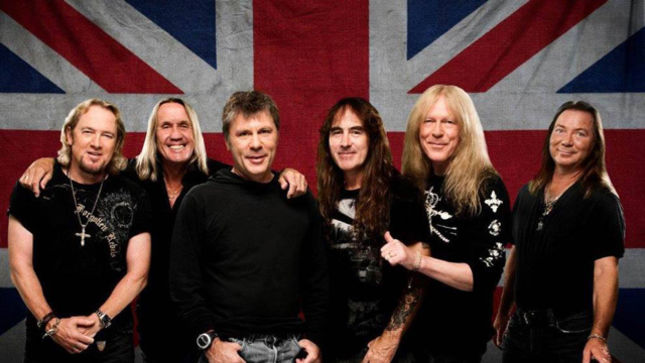 IRON MAIDEN To Release First Ever Double Studio Album Book Of Souls In September; Artwork, Trackisting Revealed