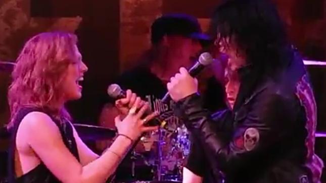 Halestorm vocalist lzzy hale pays tribute to tom keifer on - Lzzy hale boyfriend ...