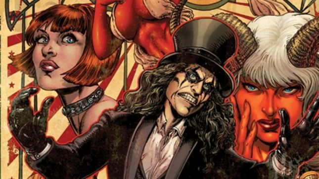 ALICE COOPER Returns To Comic Books With Evil Ernie Crossover