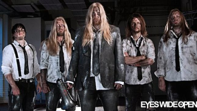 Sweden's EYES WIDE OPEN Signs With Into The LimeLight Records