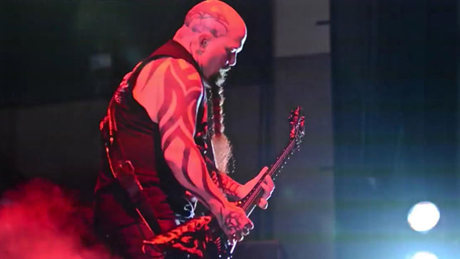 SLAYER Perform Three New Songs At Phoenix Show; Fan-Filmed Video Posted