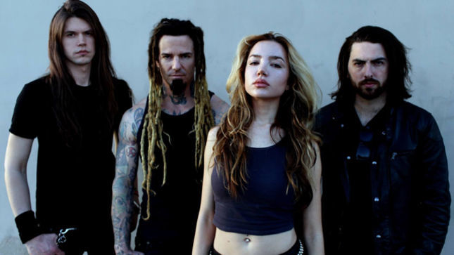"Former MACHINE HEAD / SOULFLY Guitarist's ONCE HUMAN Release Official Lyric Video For New Song ""Terminal"""