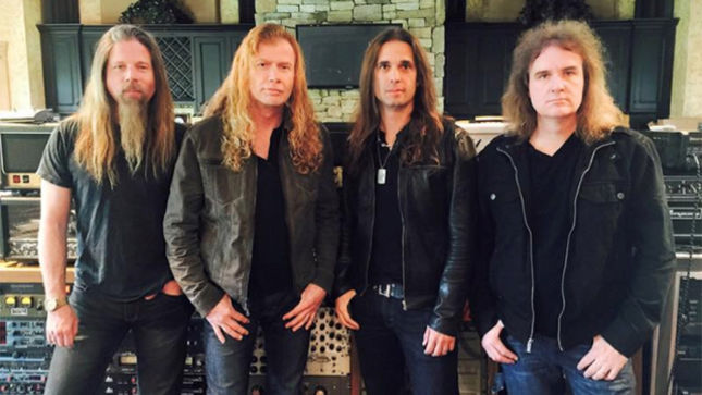 MEGADETH Announce New Album Tracklisting; To Include BUDGIE, FEAR Covers