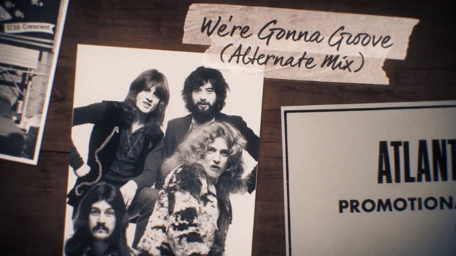 LED ZEPPELIN Launch Promo Video For Coda Super Deluxe Edition