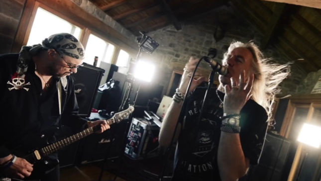 "SAXON Release Official ""Battering Ram"" Music Video; New Album Details Revealed"