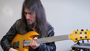 "RON ""BUMBLEFOOT"" THAL Showcases DoubleBfoot Doubleneck In Total Guitar Video Feature"