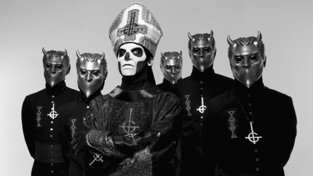 GHOST Steaming New Album Meliora In It's Entirety
