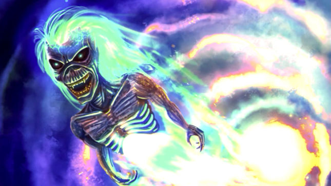 """6c6e8e78a779 IRON MAIDEN - """"Speed Of Light"""" Video Behind-The-Scenes Footage Posted"""