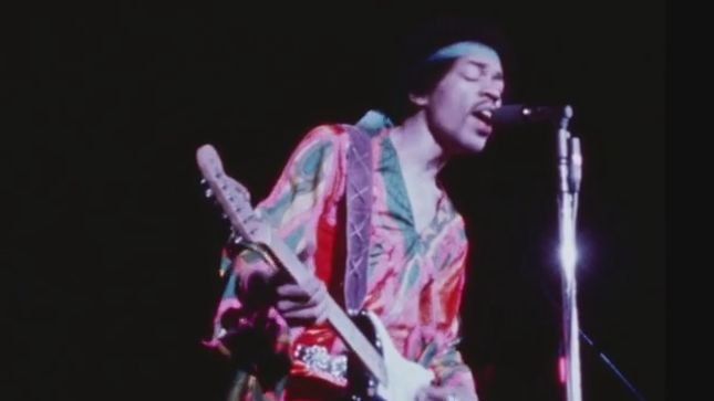 "JIMI HENDRIX – ""Purple Haze"" Live At The Atlanta Pop Festival Audio Streaming"