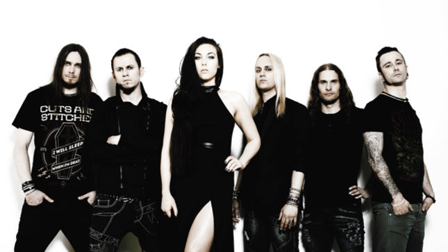 """AMARANTHE Release Acoustic Version Of """"True""""; Video Streaming"""