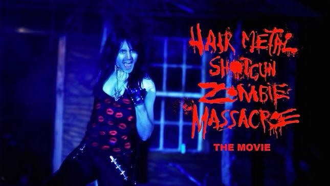 Hairmetal Shotgun Zombie Massacre The Movie Official Teaser