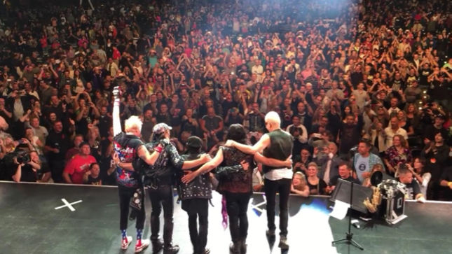 SCORPIONS Launch North American Leg Of 50th Anniversary Tour In Boston; Setlist, Video Posted