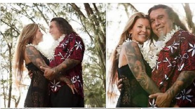 SLAYER Singer Wife Celebrate 20th Anniversary By Renewing Vows In Hawaii