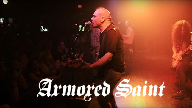 ARMORED SAINT Launches Two Live Bootleg Videos From Las Vegas; On The Road Now With SAXON