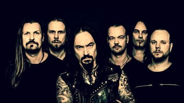 AMORPHIS - Under The Red Cloud Enters Charts Worldwide