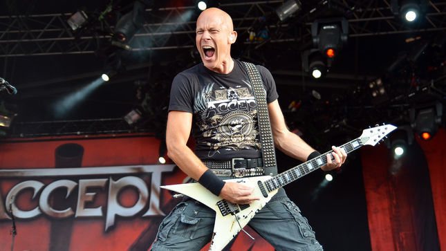 "ACCEPT Guitarist WOLF HOFFMANN - ""Writing Riffs Has Always Been Super Easy For Us""; Audio"