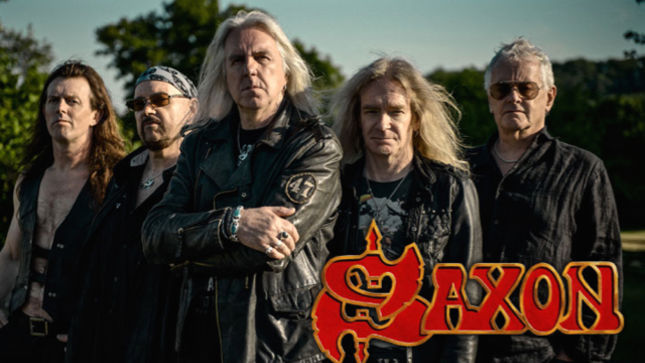 Saxon Premier Queen Of Hearts Lyric Video New Release
