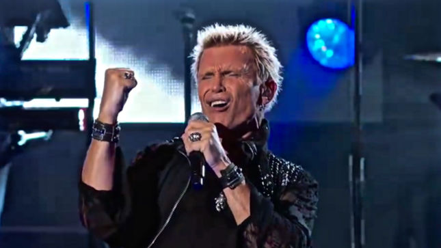 BILLY IDOL To Make His Mark On Vegas With 2016 Residency