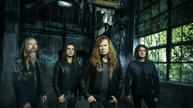 "MEGADETH's Mustaine On New Line-Up - ""Not To Be Offensive To Shawn Or Chris, But We've Upgraded Talent Wise, Personality Wise, Friendship Wise"""