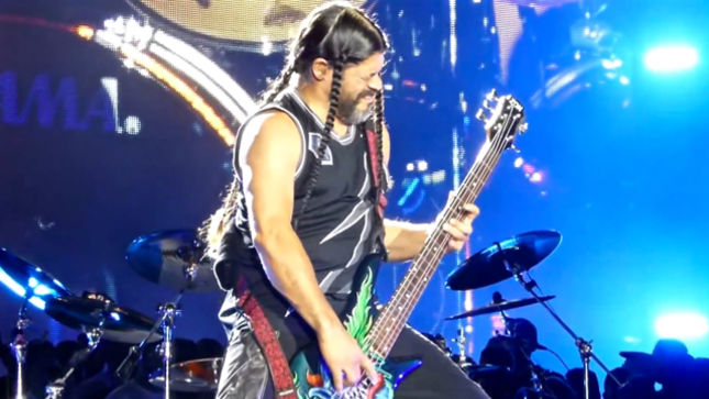 METALLICA's Robert Trujillo -