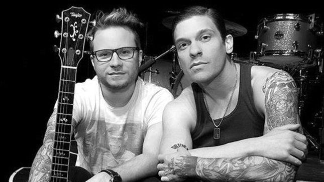 Image result for brent smith and zach myers acoustic tour