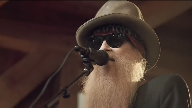 """ZZ TOP Guitarist/Vocalist BILLY GIBBONS - """"It's A Wild Ride And We Have No Intention Of Getting Off Any Time Soon"""""""