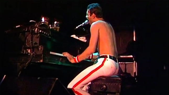 "QUEEN's ""Bohemian Rhapsody"" Turns 40 - Inside The Rhapsody Documentary And Live At The Bowl '82 Videos Posted"