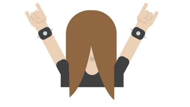 Heavy Metal Fan Part Of Finland's Emoji Campaign - Bravewords.com