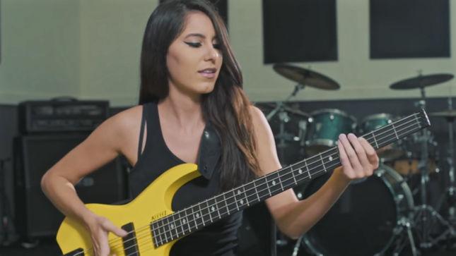 Bassist ANNA SENTINA To Guest On ALBERTO RIGONI's Bassorama Album; Video Teaser