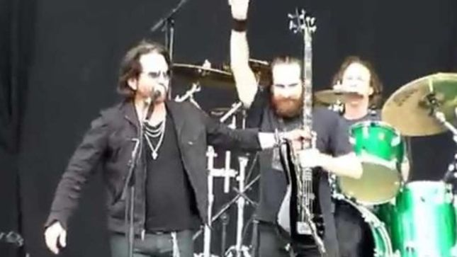 """WINGER Post Pro-Shot Live Video Of """"Madalaine"""" From Download"""