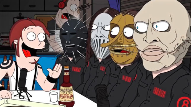 slipknot cartoon graphics and comments